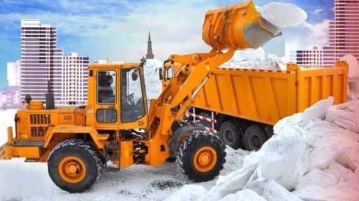 чистка дорог от снега в челябинске